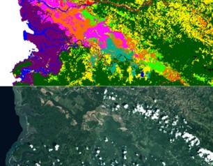 Teledetección aplicada a la detección de actividad y de cambios de uso del suelo