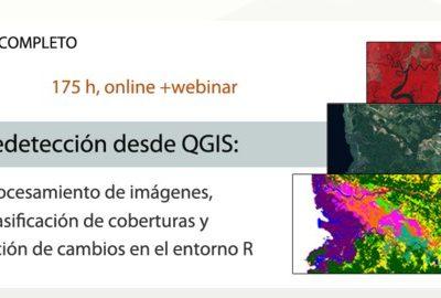 CURSO ONLINE: Teledetección desde QGIS