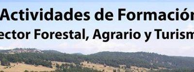 Actividades de formación Castilla-La Mancha (sector forestal y agrario)