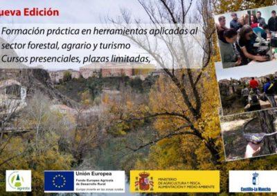 Nueva edición (2017): actividades de formación Castilla La Mancha (sector forestal, agrario y turismo)