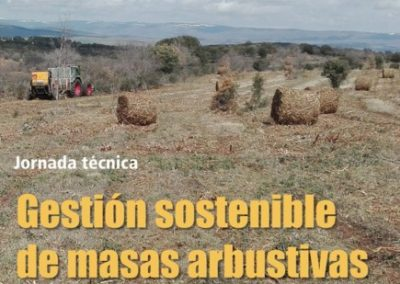 """Jornada """"Gestión sostenible de masas arbustivas"""""""