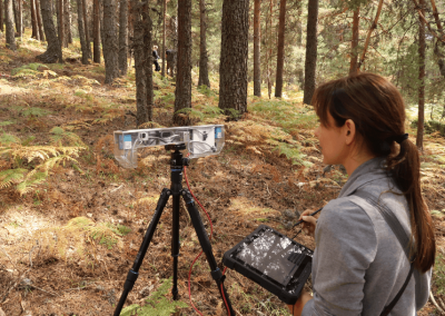 GEPRIF Project: New technologies for reducing the severity of forest fires