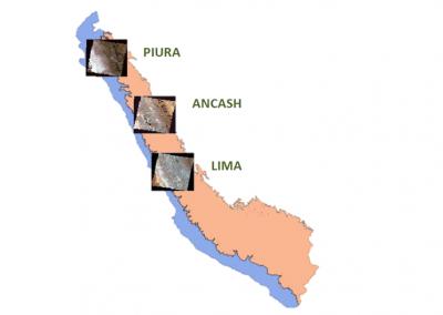 Elaboración de los mapas base y de pérdida de los bosques en la costa y sierra del Perú