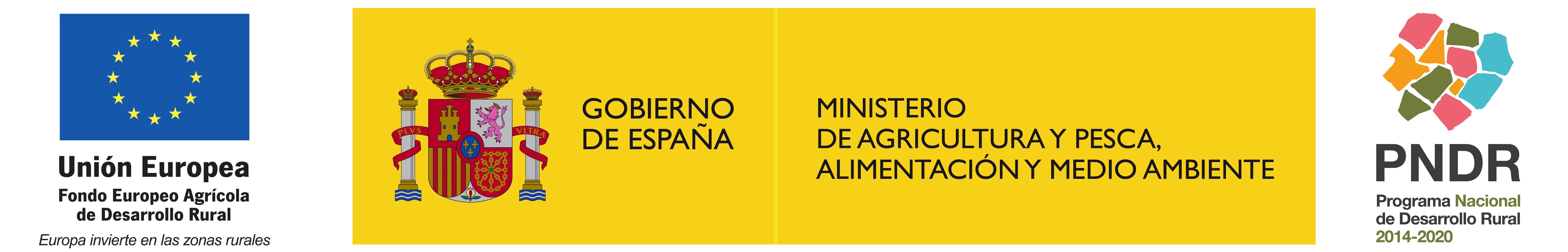 logotipo mapama feader pndr