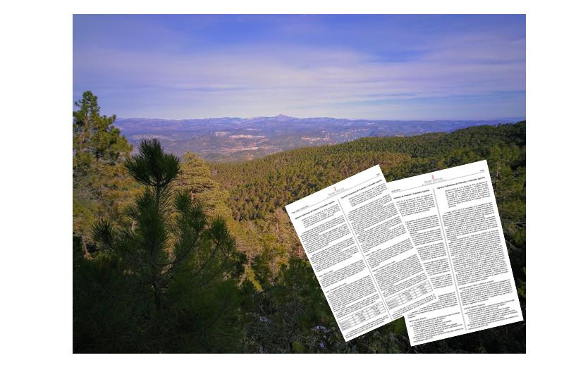 Nuevas convocatorias de ayudas forestales en la Comunidad Valenciana