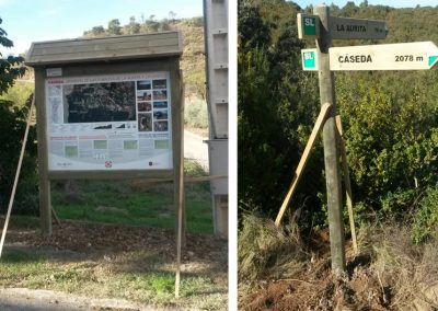 """Adecuación del """"Sendero de Las fuentes de La Aurita y Lifuentes"""", en Cáseda (Navarra)"""
