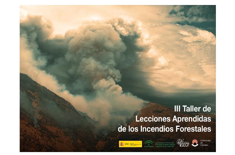 Publicados los contenidos del III Taller sobre Lecciones Aprendidas de los Incendios Forestales