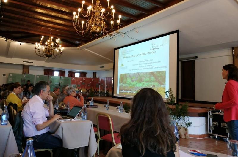Participación de AGRESTA en el Congreso Internacional Incendios Forestales y Conservación en Bosques de Laurisilva