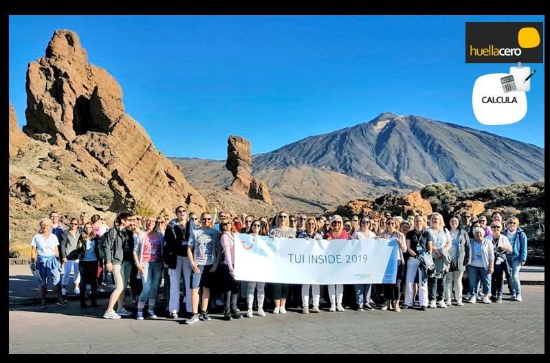 Calculo de emisiones de GEI generados durante una campaña de TUI Alemania en Tenerife