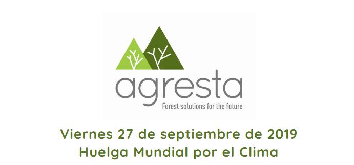 """AGRESTA se adhiere al manifiesto de la """"Huelga Mundial por el Clima"""" (27 de septiembre de 2019)"""