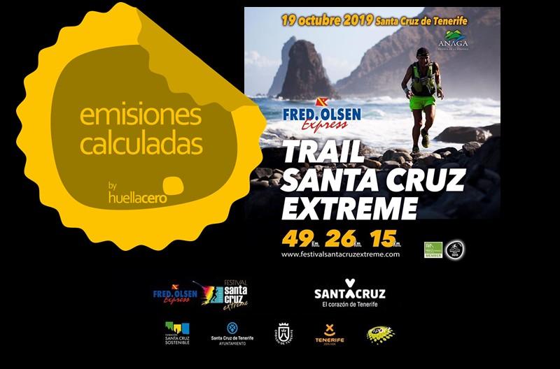 Cálculo de la huella de carbono de la prueba de trail tinerfeña «Fred. Olsen Santa Cruz Extreme 2019»