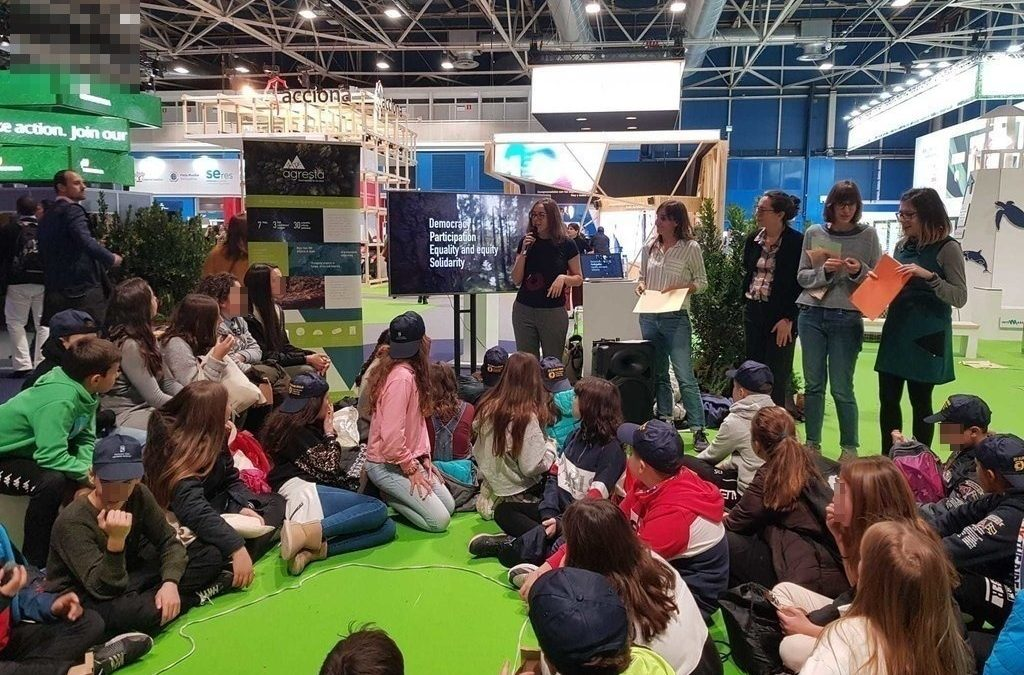Presencia de AGRESTA en la COP25 en Madrid
