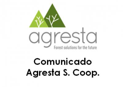 Comunicado de Agresta S. Coop. ante el estado de alarma debido a epidemia de COVID-19